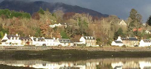 low tide at Lochcarron